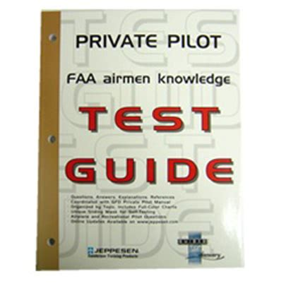 Js312400 Jeppesen Private Pilot Airmen Knowledge Test