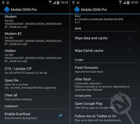 mobile odin apk free root galaxy s4 on lollipop android 5 0 1 without tripping gt i9505