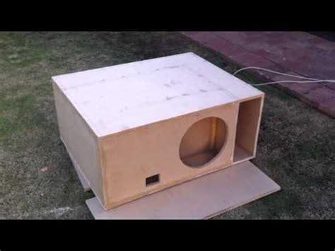 Crossover Domeno Subwofer speaker design competition 2011 midwest audio