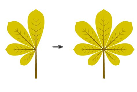 illustrator tutorial leaf how to create autumn leaves berries and chestnut icons in