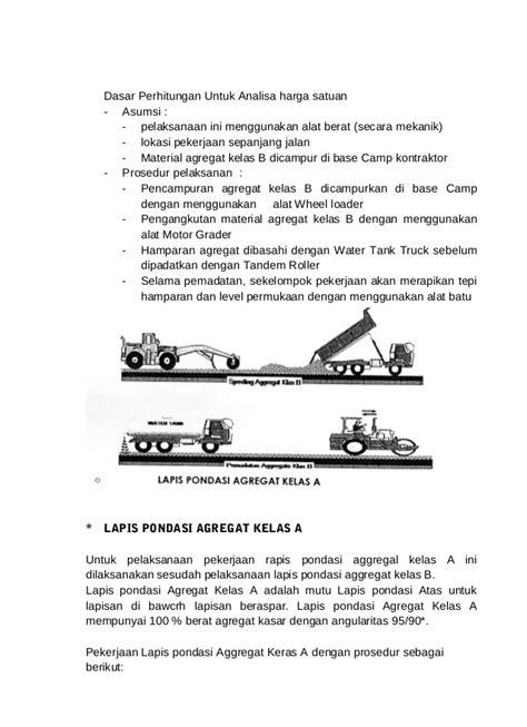 Analisa Pembersihan Lahan Metode Pelaksanaan 16 Lmbar