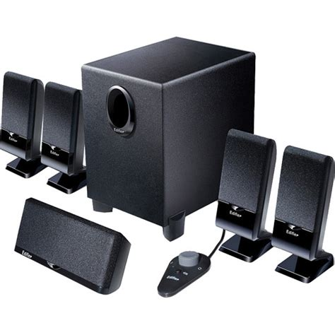 edifier m1550 5 1 channel mini home theater speaker system