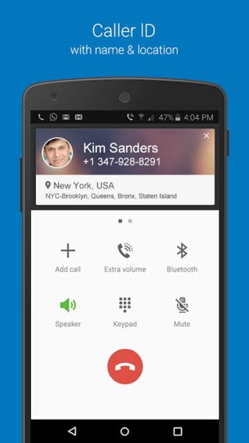 caller id app for android caller id number locator apk for android aptoide