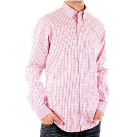 Sleeve Fit Check Shirt sleeve pink check shirt by polo ralph click to