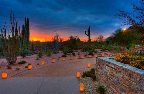 Desert Botanical Garden Luminaria 10 Things To Do Winter In Arizona