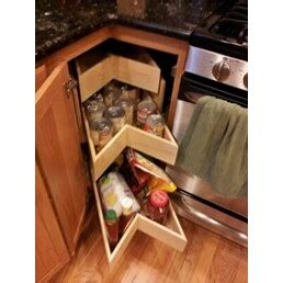 alternative to lazy susan corner cabinet treehouse homes lazy susan alternatives