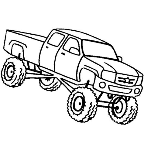 printable monster truck coloring pages coloring me