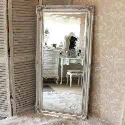 large ornate silver wall floor mirror melody 174