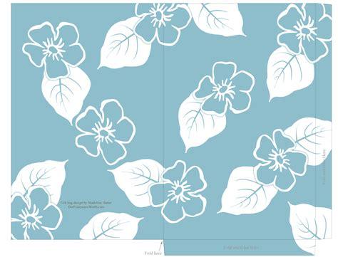 hawaiian card template free printable templates hawaiian aloha floral print