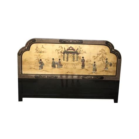 Tete De Lit 699 by Lits Chinois Chevets Chinois Laqu 233 S Mobilierdasie