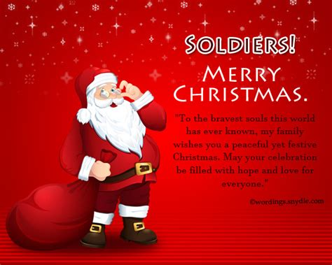merry christmas wishes  soldiers wordings  messages