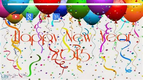themes google chrome happy new year 1000 images about new years chrome themes on pinterest