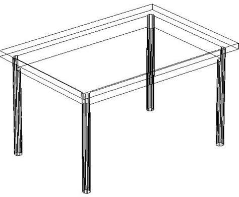 tavoli cad blocchi autocad formato dwg o dxf tavolo 3d
