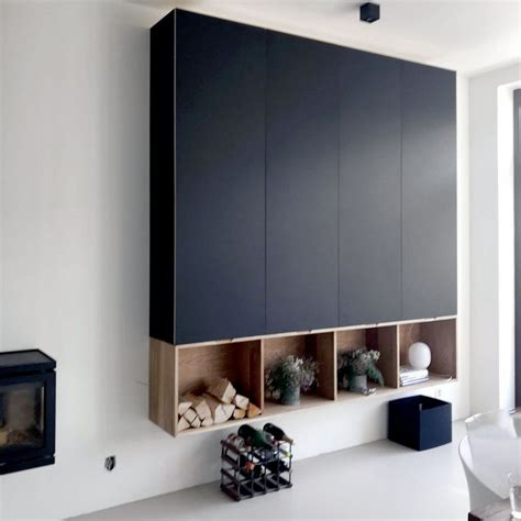Ikea Metod Arbeitszimmer by Kastenwand Ikea Metod Met Fenix Fronten Interior Design