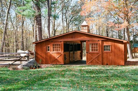 Barns Garages center aisle horse barn photos the barn yard amp great