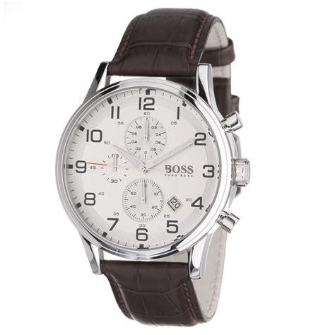 HUGO BOSS Montre Chronographe Homme Marron,   Achat/vente montre   Cdiscount