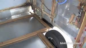 2 Floor Rv by Travel Trailer Floor Replacement 2 4 Youtube