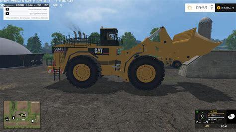 Tp Big caterpillar 994f for silage v1 0 mod farming simulator 2017 17 ls mod