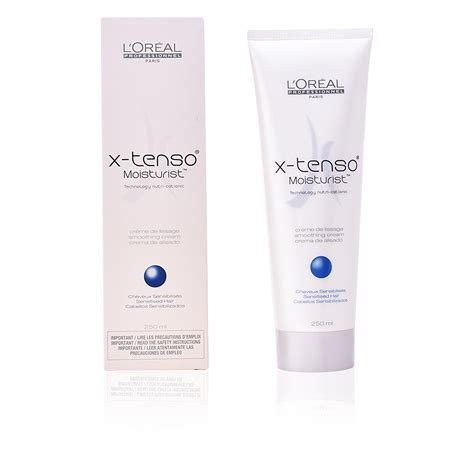 Loreal X Tenso Smoothing l or 233 al expert professionnel hair x tenso smoothing