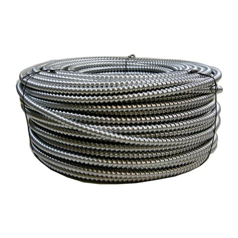 10 2 mc cable shop 250 ft 10 3 solid aluminum mc cable at lowes
