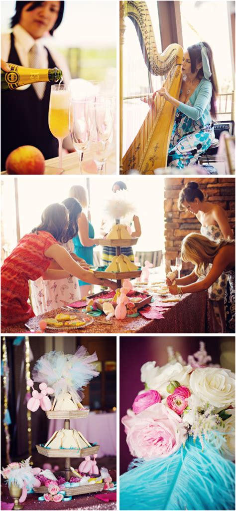 bridal shower locations las vegas whimsical kitchen themed bridal shower at rock country