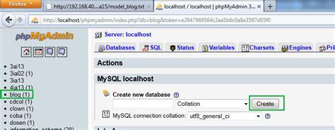 membuat database codeigniter cara membuat database di codeigniter menggunakan php mysql