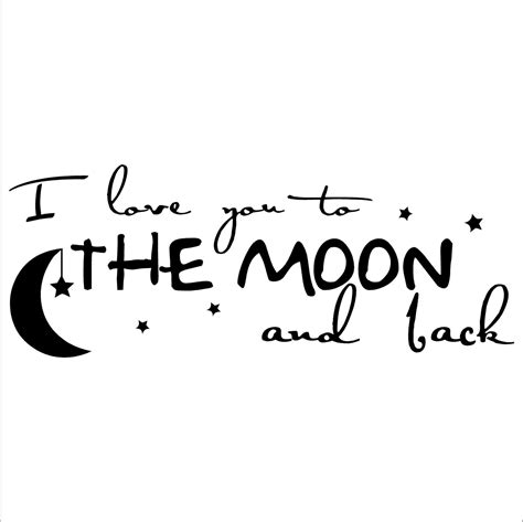 love tattoo vinyl rocket i love you to the moon and back a vinyl lettering
