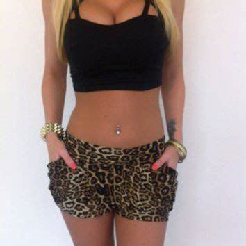 Leopart Buble by Modernopulence Leopard Shorts From Modernopulence