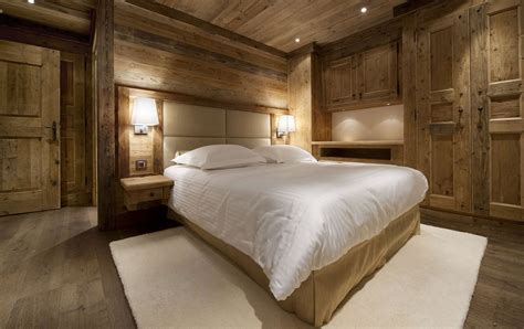 bedroom wall lighting ideas the chalet cabin to visit when going on a skiing vacation