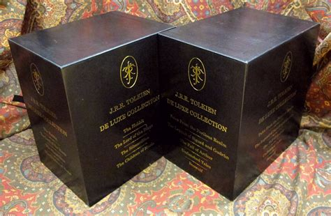 the j r r tolkien de luxe edition collection two custom