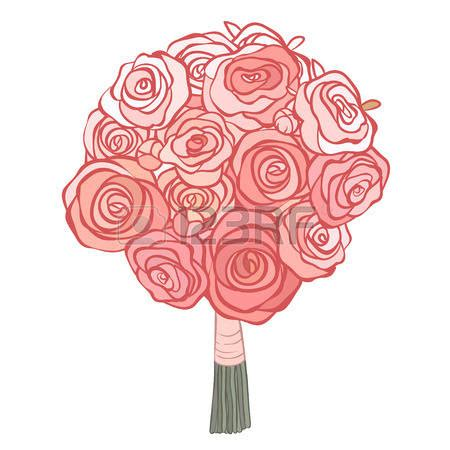 Wedding Flower Clipart by Wedding Bouquet Clipart 101 Clip