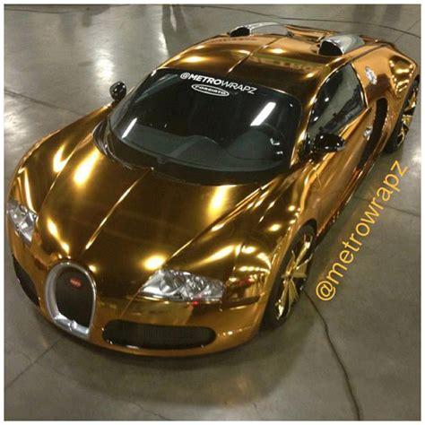 bugatti veyron gold plated pics flo rida s gold chrome bugatti worth 1 7 million