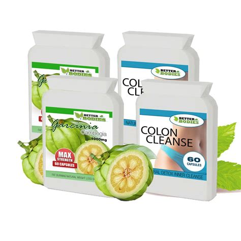 Garcinia Cambogia Detox Combo by Better Bodies Health And Nutrition Supplements Vitamins