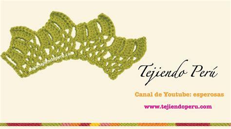 cenefas crochet cenefa para aplicar tejida en crochet 4 my crafts and