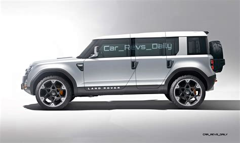 new land rover defender concept new land rover defender dc100 concept revealed news html