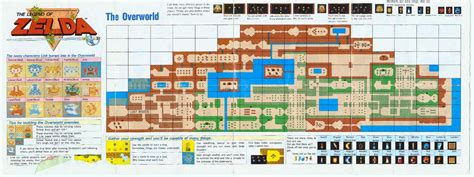 legend of zelda nes map first quest the incompletionist the legend of zelda second quest