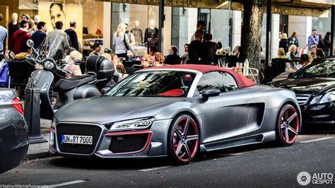 Audi R8 V10 Tuning by Audi R8 V10 Spyder 2013 Regula Tuning 18 March 2017
