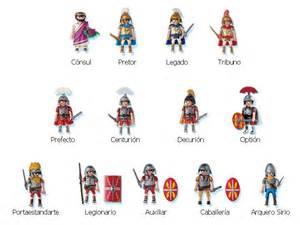 Playmobil romanos de piedra y papel