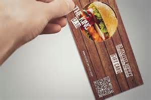 Fast Food Gift Cards - fast food restaurant gift card card templates on creative market