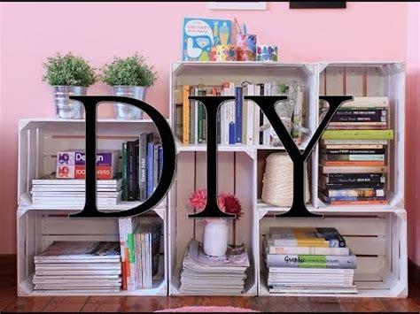 la libreria scolastica come creare una libreria con le cassette di legno fai da