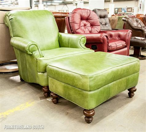 clayton marcus leather sofa clayton marcus lime green leather arm chair and ottoman