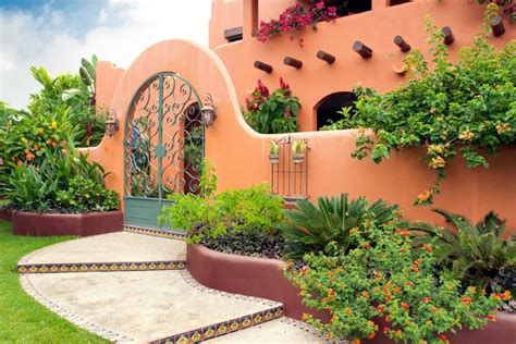 Spanish Inspired Home Decor villa baha mediterranean exterior other metro by