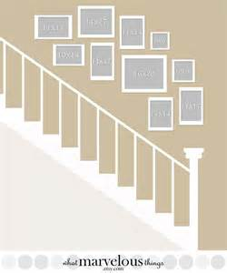 picture wall template 25 best ideas about picture wall staircase on