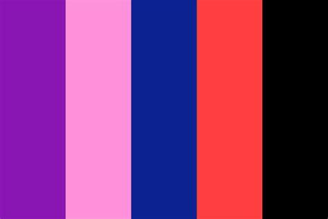 galaxy color palette galaxy aesthetic color palette