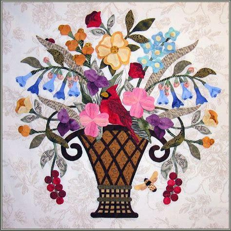Patchwork Applique Patterns by 1148 Best Quilt Fleurs Images On Appliques