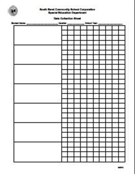 data collection sheet template 1000 ideas about data collection sheets on
