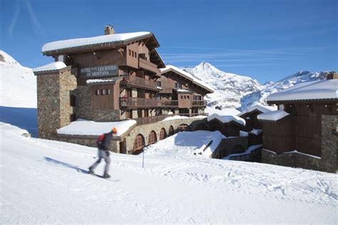 hotel les suites du montana tignes ski resort