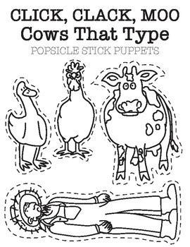 click clack moo cows that type puppets by sunshine