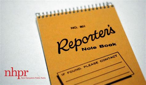 Reporters Notebook August 28 2012 by Reporter S Notebook Lakeview Source Documents New Hshire Radio