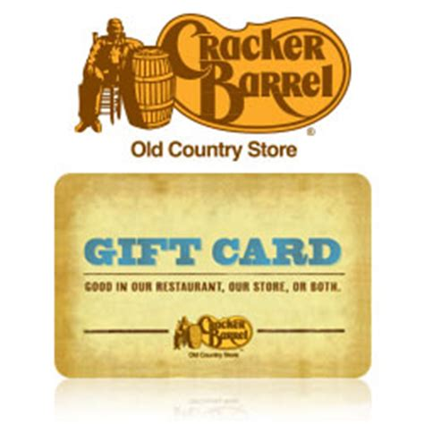 Cracker Barrell Gift Card - buy cracker barrel gift cards at giftcertificates com